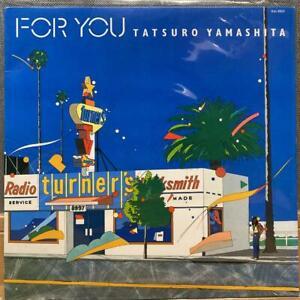 TATSURO YAMASHITA FOR YOU 1982 AIR RAL-8801 LP Vinyl Record CITY POP