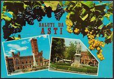 AD4384 Saluti da Asti - Vedute - Cartolina postale - Postcard