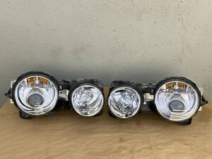 2003-2008 Jaguar S-type R Supercharge Set of 2 OEM Xenon Headlights Assembly