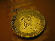 1975 Canada Silver Dollar Coin 100 Years Of City Of Calgary ID#B75.