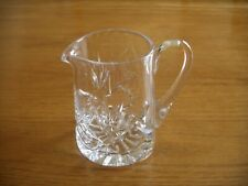 ROYAL BRIERLEY CUT CRYSTAL MILK/CREAM  JUG.