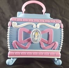 "Vintage Disney Cinderella Music Box ""Bibbidi Bobbidi Boo"" Trinket/Jewelry Box"