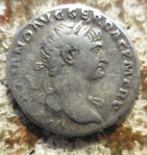 Trajan 98-117 AD Rome Ar Denarius (19 mm, 3.30 g) Aeternitas, Sol & Luna Heads