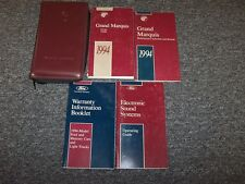 1994 Mercury Grand Marquis Owner Owner's Operator Guide Manual Set GS LS 4.6L V8