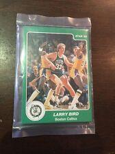 1984-85 Star Arena Boston Celtics Sealed Set Larry Bird Mint