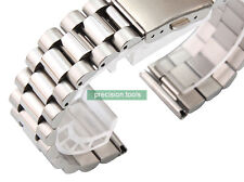 20mm Straight End Steel President Replacement Bracelet For Vintage Watches