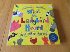 Julia Donaldson Story WHAT THE LADYBIRD HEARD NEW Bundle x3 books