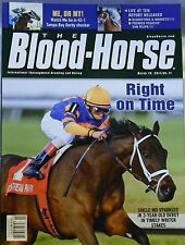 BLOOD HORSE MAGAZINE UNCLE MO IN TIMELY WRITER STAKES 3/19/2011