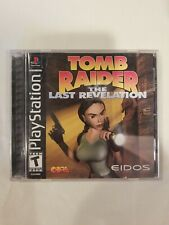 New listing Tomb Raider: The Last Revelation Sony PlayStation Ps1 *Complete* Tested