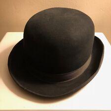 9173ec2cc82 Vintage Mens Bowler Derby hat BEAVER BRAND excellent condition 7 1 8 RARE!