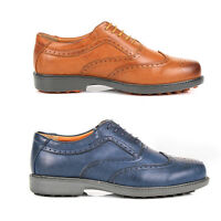 Mens Shoes Faux Leather Brogues Size  7 8 9 10 11