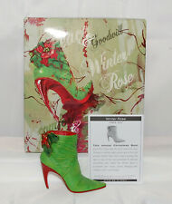 Just The Right Shoe by Raine Shoe Miniatures- Winter Rose Nib