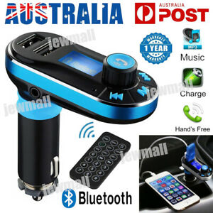 Bluetooth Car MP3 Player LCD Handsfree FM Transmitter USB/SD Wireless Car Kit