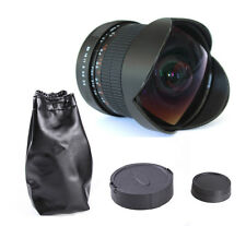 8mm f/3.5 Super Wide Fisheye Camera Lens For Nikon D7100 D5200 D3100 D700 D90