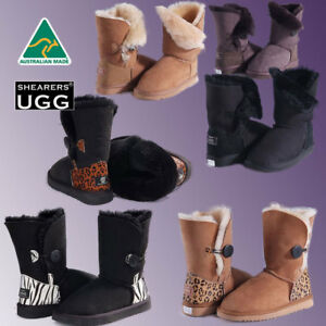Ugg Boots Sale Australian Made Button Uggs Shoes Ugg Boots Men Women Shearers