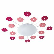Eglo VIKI 1 - Ceiling Lighting (indoor Pink White Round Steel Ip20)