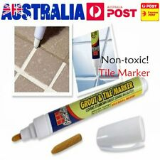 Grout Aide Tile Marker White Color Repair Wall Pen Packaging As Seen On TV RNG