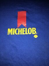 Vintage Michelob Beer Blue T Shirt Xl