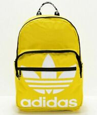 Adidas Originals Trefoil Backpack Laptop Sleeve Yellow White Black