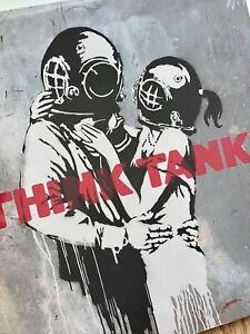 SEALED Blur Think Tank Vinyl Album w/Banksy Cover Art