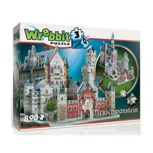Wrebbit 3D Puzzle Neuschwanstein Castle (890pc)