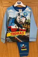 BOYS THOMAS THE TANK ENGINE PYJAMAS PJS AGE 18-24 MONTHS CHRISTMAS GIFT PRESENT