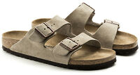 *NEW* ARIZONA 38 N SIZE 7-7.5 US WOMEN {TAUPE} SUEDE LEATHER SANDALS BIRKENSTOCK