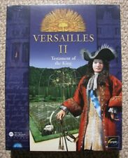 Versailles II The Testament of the King in Box - PC Adventure Game - New Sealed