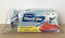 NEW Reynolds Handi-Vac Vacuum Sealer Starter Kit Includes 3 qt. Freezer Bags