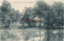 Ak, Dresdner Heide, Dorfteich in Ullersdorf um 1911,  (G)19279