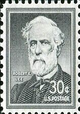 US Postage PHOTO MAGNET Reproduction Robert E. Lee General 1954 issue 30 cents