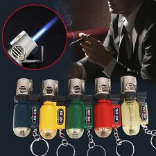 5Colors Empty Lighter Keyring Flame Torch Refillable Butane No Butane Lighter