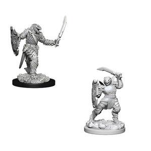 D&D Unpainted Nolzur's Marvelous Miniatures Dragonborn Female Paladin