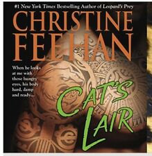 LEOPARD'S FURY ~ LEOPARDS PREY & CAT'S LAIR Paperback by Christine Feehan  3 Set