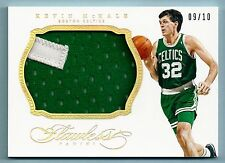 KEVIN MCHALE 2013/14 PANINI FLAWLESS JUMBO 2 COLOR PATCH  /10 CELTICS