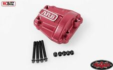 RC4WD ARB Diff Cover for Vaterra Ascender axle RED Metal inc Screws Z-S1676
