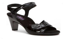 Helle Comfort Eudora Black Wedge Sandal Women's sizes 37-41 NEW!!!