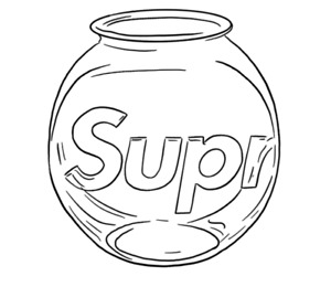 Supreme Clear Glass Fishbowl
