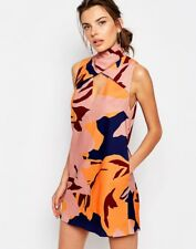 C/meo Collective For The People High Neck Printed Shift  Dress Size Medium BNWT
