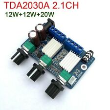 TDA2030A 2.1CH 12W+12W+20W Subwoofer Bass Audio Power Amplifier Board Verstärker
