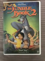 Walt Disney Pictures Presents The Jungle Book 2 DVD BALOO MOWGLI CARTOON ADVENTU