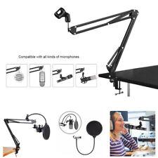 Pro Desktop Mikrofon AufhäNgung Scherenarm Mikrofonstativ Tisch Halterung f E7L2