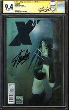 X-23 #1 CGC 9.4 Signed STAN LEE Laura Kinney LOGAN Movie Wolverine Jubilee app