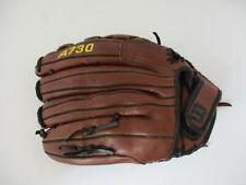 "Wilson A730 14"" Right Hand Throw Ecco Leather Softball Baseball Glove AO730"