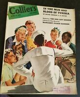 1943 Colliers April 17-Tunisia, Frank Sinatra;Aldous Huxley;Submarines;Inflation