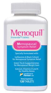 Menoquil Maximum Strength Menopausal Relief Hot Flashes