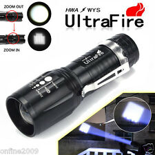 Ultrafire 2500Lumen Flashlight CREE T6 LED Rechargeable Torch Super Bright Light