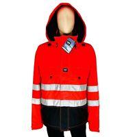 Helly Hansen Men's Workwear Hi Vis Waterproof Briethable Jacket Size XXL / 2XL