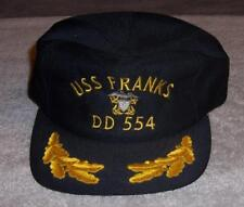 069108275f2d4 USS Franks DD 554 Baseball Hat World War II-era Fletcher-class destroyer