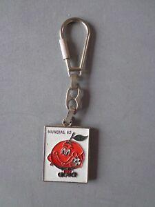 Vintage Rare Keychain Keyring Porte-Clés Mundial World Cup España Spain 82